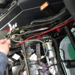 AMGG63ロング ランバーサポート修理